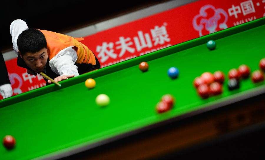 斯诺克世界杯中国队夺冠