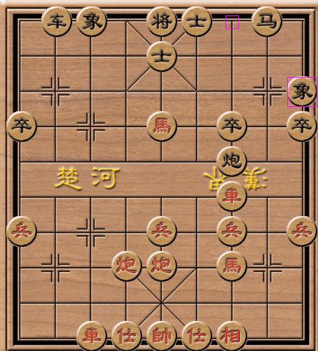 中国象棋规则技巧,原来并不难