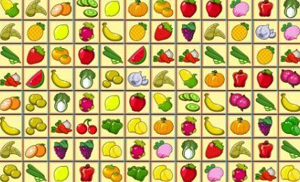 水果蔬菜连连看游戏玩法,你是否学会了?