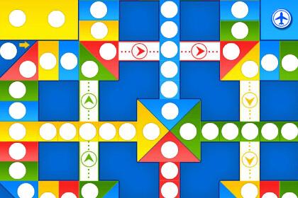 飞行棋其实是一个讲究策略的游戏
