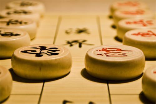 下象棋,合理的布局会有更大的获胜面