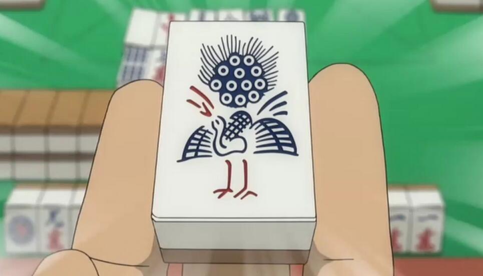手机宿松麻将的财神配牌与赢牌的使用