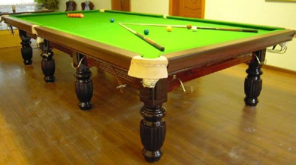 详细讲解斯诺克台球桌怎么安装